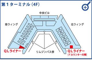 成田空港第1ターミナル(4F)