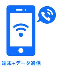 端末+データ通信