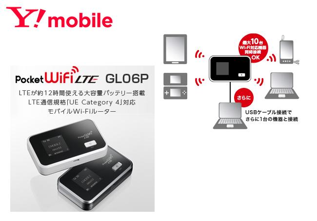 ワイモバイル GL06P説明画像