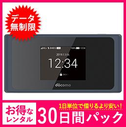 【無制限】【30日レンタルパック】ドコモ HW-01L