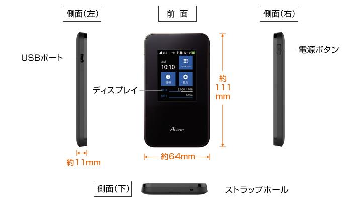 【5GB/日】MR03LN説明画像