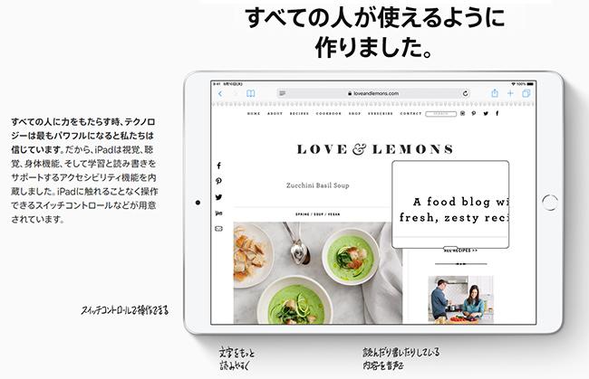 iPad mini5 cellular説明画像