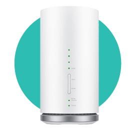 最大接続40台!Speed Wi-Fi HOME L01s